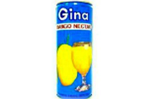 Gina, Juice Mango Nectar, 8 FO (Pack of 30)