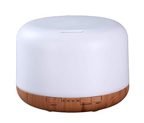 500 ml großes Fassungsvermögen, Aromatherapie-Luftbefeuchter, Nachtlicht,4-in-1-Aromatherapie-Luftbefeuchter,12 Arten von Farben, Fernbedienung,Timing-Funktion,Aromatherapie-Luftbefeuchter, nachhaltig