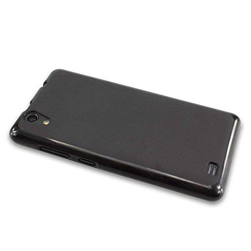 caseroxx TPU-Hülle für Medion Life E5001, Tasche (TPU-Hülle in schwarz)