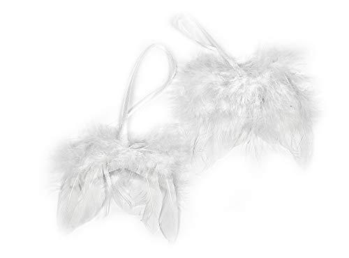 VBS 2 Engelsflügel Flügel Anhänger Engel basteln Set Feder