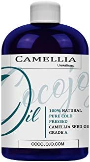 Japanese Camellia Seed Oil 100 Pure Unrefined Cold Pressed Non GMO Bullk Carrier 8 oz for Skin product image