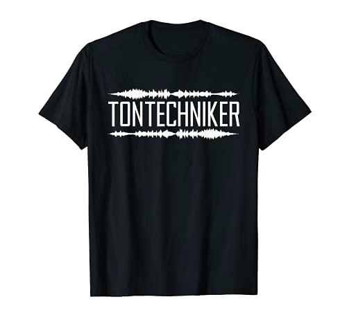 Tontechniker Tonmeister - Mesa de mezclas para DJ Camiseta
