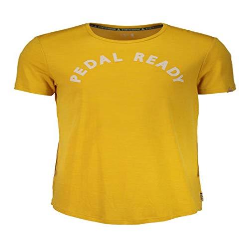 Maloja Multi Maillot de Sport Fonctionnel T-Shirt Jaune surbergm. 23210 Stretch (M)