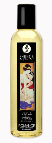 Erotic Massage Oil - Romance (Strawberries & Champagne) by Shunga