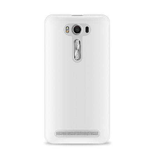 Puro-Carcasa para ASUS ASZFONE2LASER03TR Zenfone 2 láser, Incluye Protector de Pantalla, Transparente