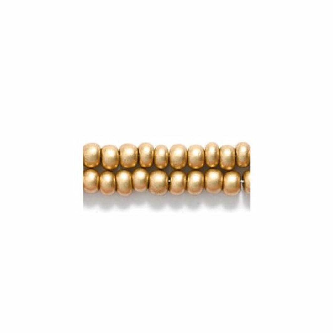 Preciosa Ornela Czech Seed Bead, Silk Light Gold, Size 6/0