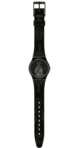Swatch Kinder-Armbanduhr Midnight Magi kidrobot GB249