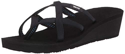 Teva Women's Tirra Athletic Sandal (9 B(M) US, Black/Black)