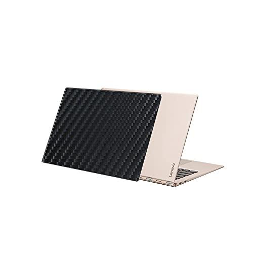 VacFun 2 Piezas Protector de pantalla Posterior, compatible con Lenovo YOGA 910 2017 13.9', Película de Trasera de Fibra de carbono negra Skin Piel