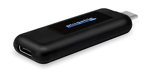 Plugable USB-C 電圧・電流チェッカー、有機LED画面付き、2016/2017 MacBook Pro、2015/2016/2017 MacBook、Dell XPS、HP Spectre x360、Samsung S9 Plus、S8などで使用可能