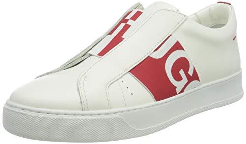 HUGO Damen Futurism ElasticS-CB Sneaker, Open White121