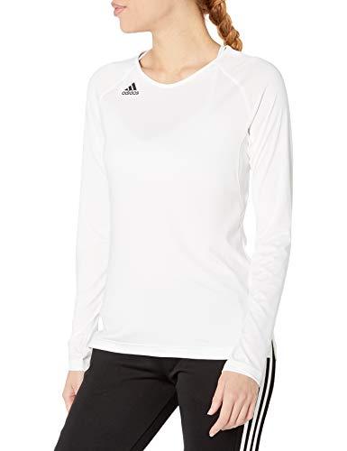 adidas Women's Hilo Jersey, White, Medium