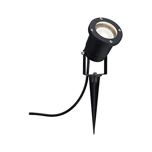 Paulmann 988.96 Foco Special Line Garden IP65 GU10 Blanco cálido 3,5W 98896 LED, estaca, iluminación, luminarias de jardín, Exterior, 3.5 W, Negro, 32 x 9.1999999999999993 x 32 cm