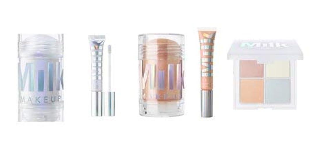 ピン故障中メロディアスMilk Makeup Holographic Stick and Lip Set Mars & Supernova and Holographic Powder Quad [並行輸入品]