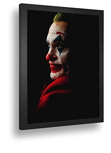 Quadro Decorativo Poste Joker-Joaquin-Phoenix Piada Mortal