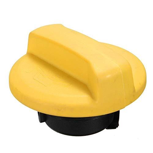 KKOYYRZ Coche del reemplazo del Filtro de Aceite Combustible del Motor Tapa/Ajuste for Vauxhall/Opel Corsa en Forma for el (Color : Yellow)