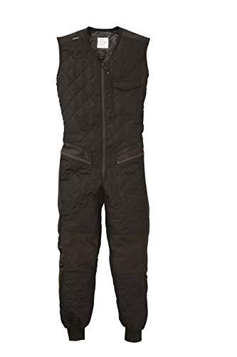 GRACE ENGINEERS グレースエンジニアーズ GE-2042 (秋冬用)インナーつなぎ袖なし 5 ブラック L