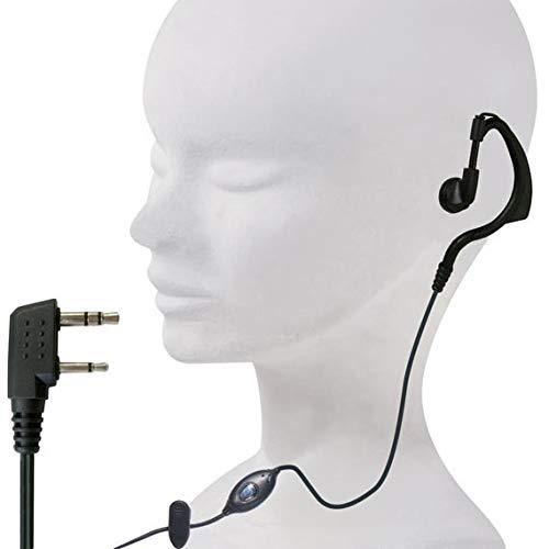 Microfono/Auricolare ad archetto con connettore kenwood per radio ricetrasmittenti POLMAR - MA-10