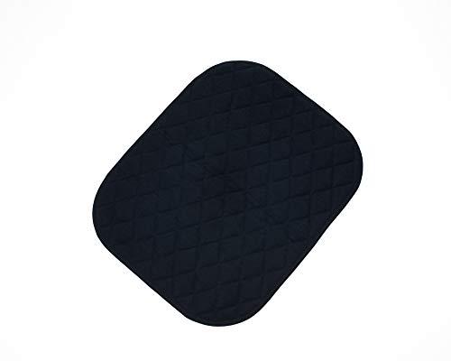 Inkontinenz Sitzauflage mit Antirutschnoppen   Waschbare Sitzschutzauflage  Sitzauflage saugfähig   Sitzkissen   Sitzpolster   Inkontinenzauflage Gr. 40 x 50cm   Top-Qualität von ActivePro (schwarz)