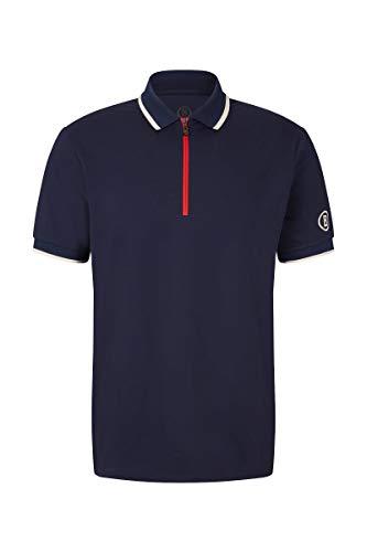 Bogner Sport Mens Cody Blau, Herren Polo Shirt, Größe XL - Farbe Navy
