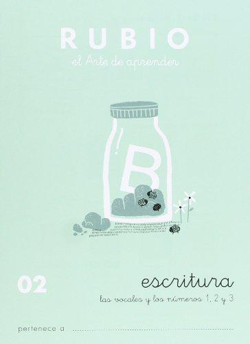 Rubio 02 - Caligrafía Escolar Rubio (Escritura RUBIO)