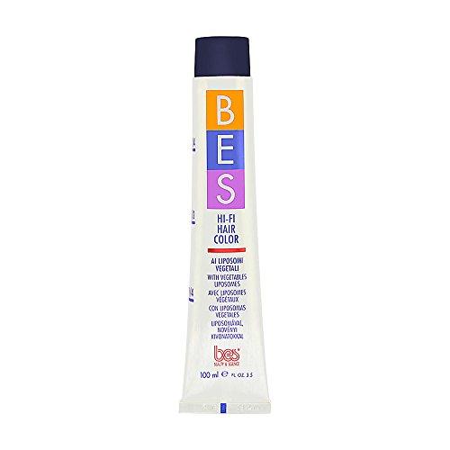 BES - Hi-Fi Hair Color - Vegetables Liposomes - Couleur des cheveux - Coloration - 100 ml - Couleur : # 5.0 Light Brown