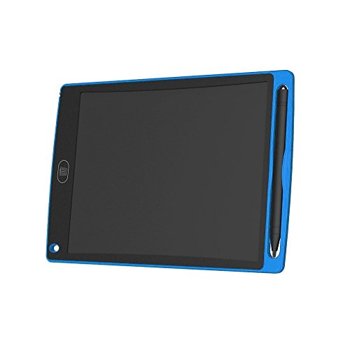 WEQQ Tableta de Escritura LCD de 8.5 Pulgadas Tablero de Dibujo súper Brillante para Escribir Doodle (Azul)