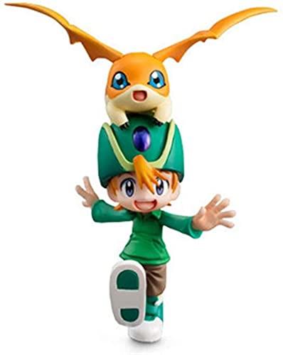 Figura Digimon Takaishi Takeru & Patamon Figura Figura Acção Figura