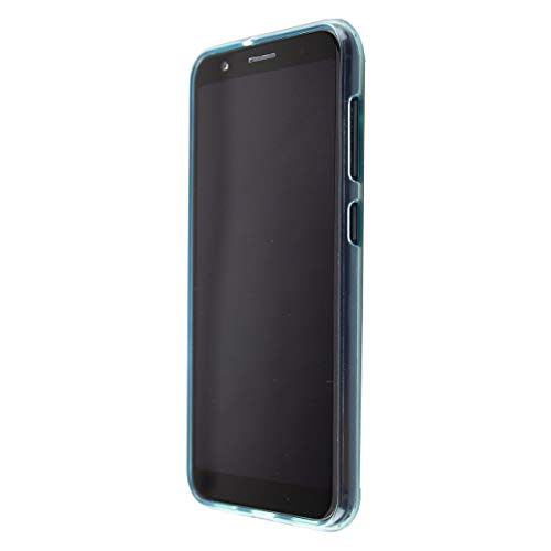 caseroxx TPU-Hülle für Gigaset GS185, Tasche (TPU-Hülle in blau mit & ohne Bildschirmschutz) (TPU-Hülle, blau)