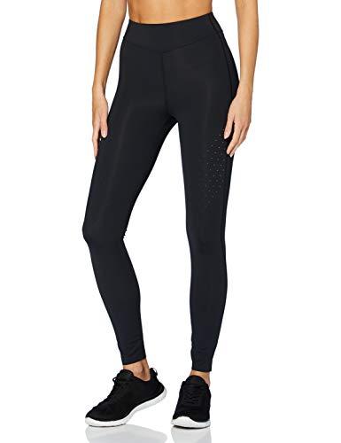 Amazon-Marke: AURIQUE Damen Lauf-Leggings, Schwarz (Black), 42, Label:XL