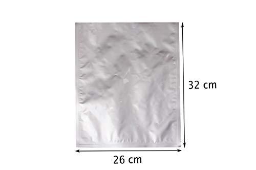 IJzer-op-zak 26 x 32 cm Geurbestendige verpakking Voedsel - Baggies Baggys Zakken Vacuümzakken Aluminium gelamineerde zakken Foliezakken (26 x 32 cm)
