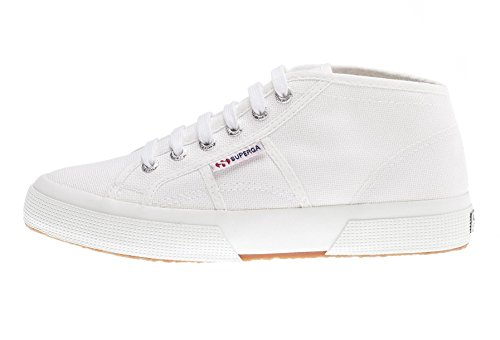 Superga Unisex-Erwachsene 2754-cotu High-Top Sneaker, Weiß (901), 46 EU