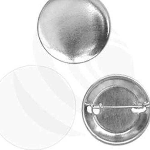 Buttonorder 44mm Button-Rohmaterial mit Nadel (US-Größe 1-3 4) 250 Stück