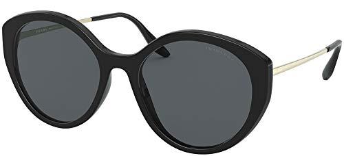 Prada 0PR 18XS Gafas, Negro, 55 para Mujer