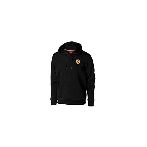 Ferrari Sudadera Hombre Escudo Lateral Negro Talla XXL