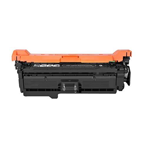 Compatibel met Hp Color Ce250a Toner Cartridge, Printer Hp Color Laser Jet Cp3525/cp3525n/cp3525xcm3530/cm3530fs Compatibele tonercartridge, Echte verbruiksartikelen size Zwart