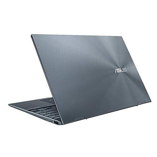 ASUS ZenBook Flip 13 UX363EA (90NB0RZ1-M04640) 33,7 cm (13,3 Zoll, FHD OLED, IPS-level, 400 Nits, Touch) Convertible Ultrabook (Intel Core i7-1165G7, Intel UHD Graphics) Pine Grey