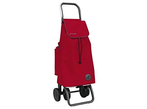 Rolser Carro Compra, Rojo, 39 x 32 x 100 cm
