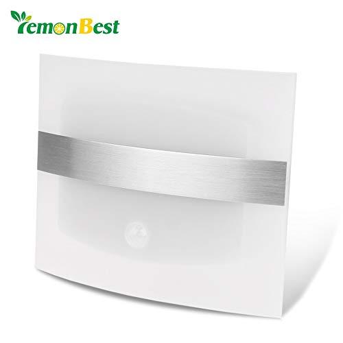 LED Wandlamp Motion Sensor Licht Binnen/buiten Led Wandlamp voor Thuis Wandlamp Nachtlamp, Wit