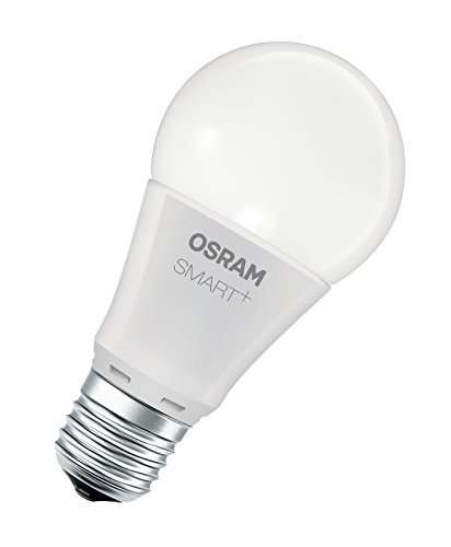OSRAM Smart+ LED, ZigBee Lamp with E27 Socket, warm white to daylight, Color Change RGB, dimmable, Directly compatible with Echo Plus and Echo Show (2. Gen.), Compatible with Philips Hue Bridge