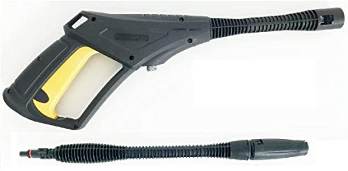 Parkside Set daccessoires (pistolet de pulvérisation et lance) pour nettoyeur haute pression PHD 150A1B2C2D3