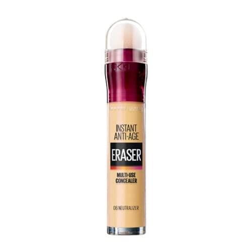 6 x Maybelline Instant Anti Age Eye Concealer Eraser 6.8ml - 06 Neutralizer
