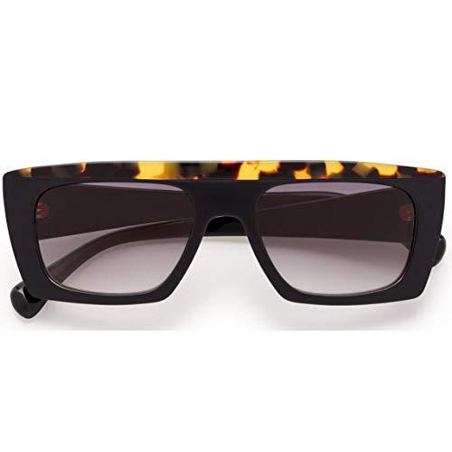 Kaleos - Gafas de sol modelo Casswell color C 01, montura de acetato color negro con havana clara en la parte frontal, estilo unisex