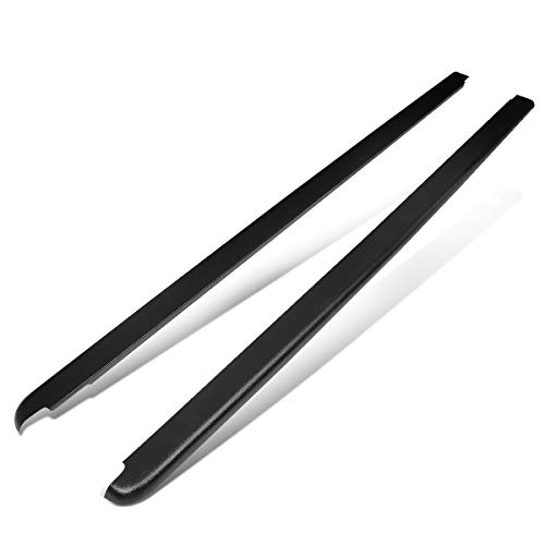 DNA MOTORING BEDC-NS-023 Pair Truck Bed Rail Molding Cap [for 02-09 Ram 1500/2500 8Ft]