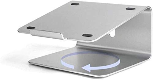 THBEIBEI Laptop Stand Ahorra Espacio Universal Portátil Ligero Base Móvil De Aluminio Generoso Portátil 11-17 Pulgadas