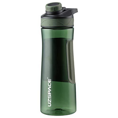 UZSPACE Sport Trinkflaschen 500mL/700mL-BPA-frei -Tritan-Auslaufsichere Kunststoff Wasserflasche, Sportflasche für Sport, Fitness, Uni, Fahrrad, Outdoor