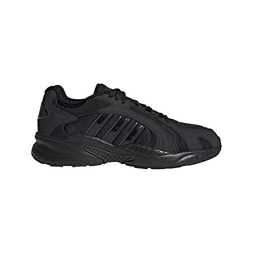 adidas CRAZYCHAOS Shadow 2.0, Zapatillas de Running Hombre, NEGBÁS/NEGBÁS/Carbon, 43 1/3 EU
