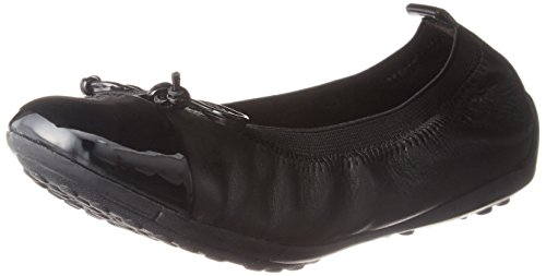 Geox J Piuma Bal.F, Ballerines Fille, Noir Blackc9999,...