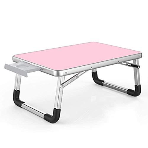 Al aire libre plegable del escritorio del ordenador portátil Escritorio 60 * 40cm ajustable del ordenador portátil plegable de la tabla del escritorio del PC portátil de soporte portátil bandeja de la