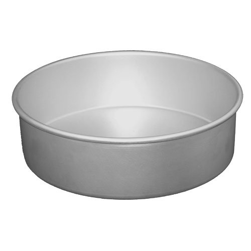 Fat Daddio's 3″ x 2″ Round Cake Pans, Case of 6